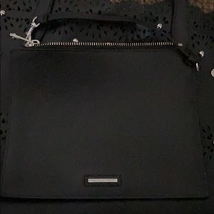 Rebecca Minkoff Black Leather Tote Bag